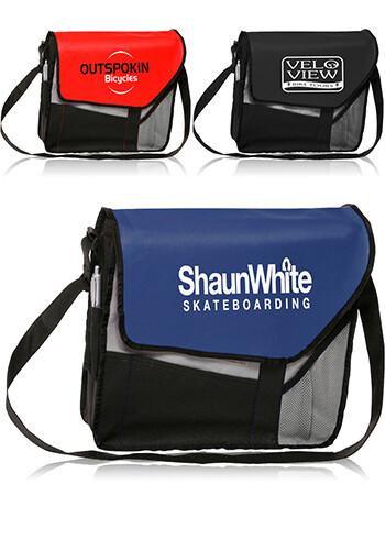 Custom Slant Flap Messenger Bags