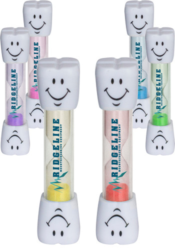 Custom Smile Two Minute Brushing Sand Timers