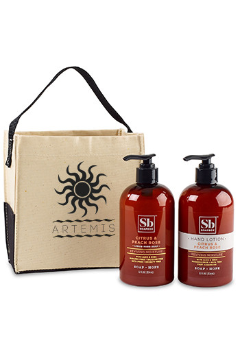 Customized Soapbox Cleanse And Soothe Gift Set