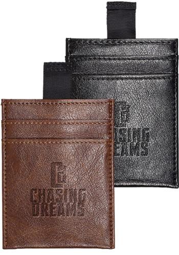 Custom Sorrento Rfid Wallets With Pull Tab