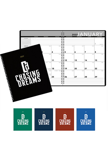 Customized Spiral Monthly Planners