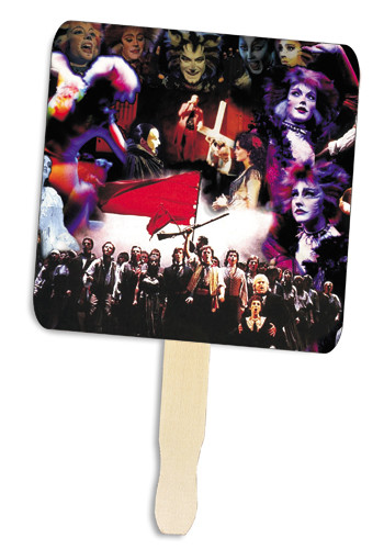 Personalized Square Shape Hand Fans