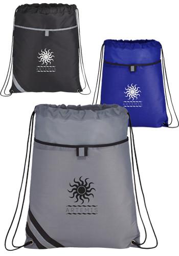 Stripe Drawstring Bags | LE300522