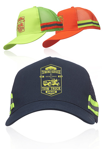 Personalized Structured Safety Reflective Caps