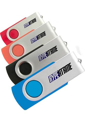 Customized Swivel USB Flash Drives 1GB