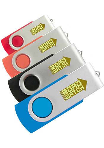 Swivel USB Flash Drives 2GB | IDSPUSB120042G