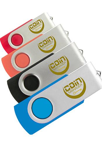 Swivel USB Flash Drives 4GB | IDSPUSB120044G