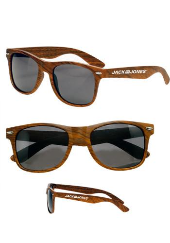 Wood Tone Sunglasses