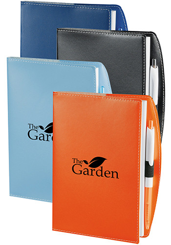 Personalized Talbot Notebooks with Pen Holder