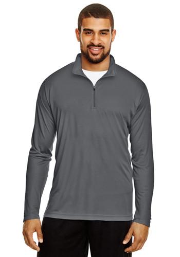 Team 365 Mens Zone Performance Quarter Zip Shirts | TT31