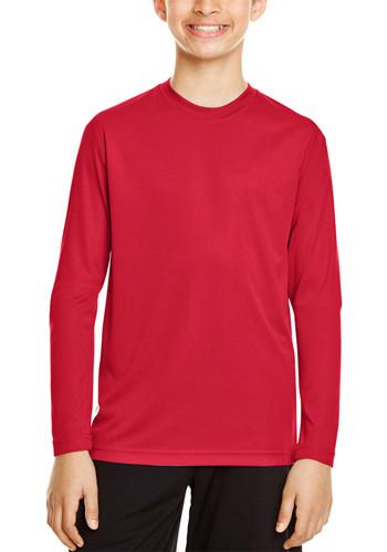 Youth Performance Long Sleeve Shirts