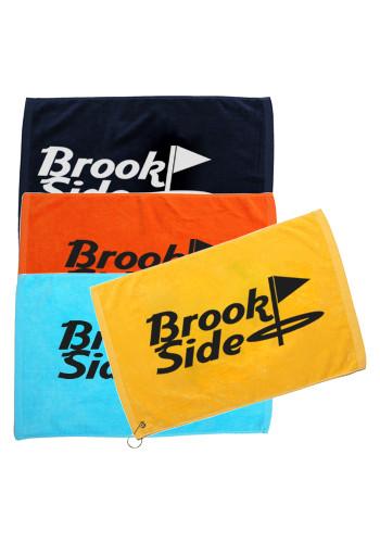 printed velour towel
