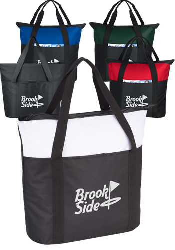 Zippered Business Tote Bags
