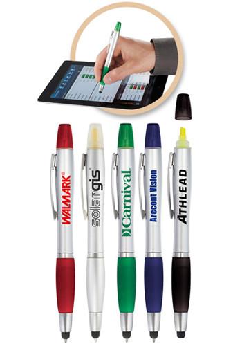 Promotional The Nash Highlighter Stylus Pen