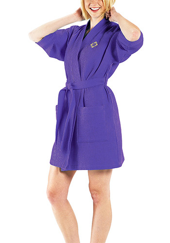 Thigh Length Waffle Weave Kimono Robes - Colors| TERW1019C