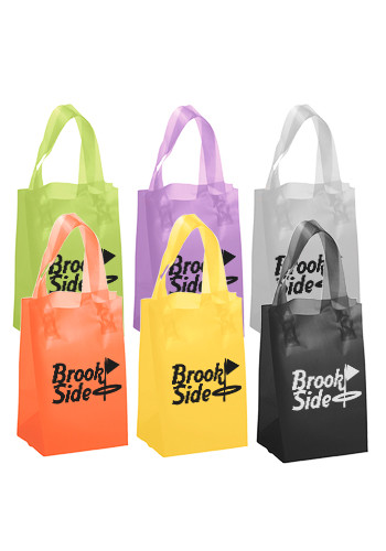 Promotional Thor Frosted Brite Shopping Bags