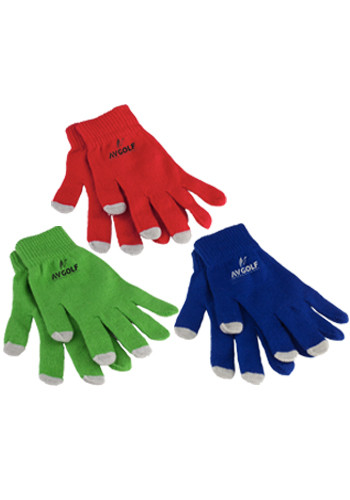 Touchscreen Gloves In Pouch
