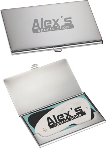 Customized Traverse Business Card Holder