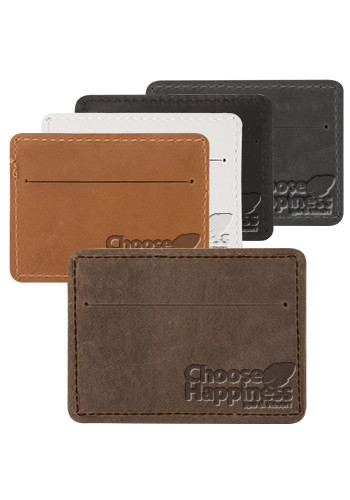 Bulk Traverse Leather Slater Single Pocket Wallets