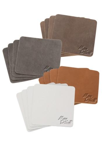 Traverse Leather Tanner Coaster Sets | SUTTANNER