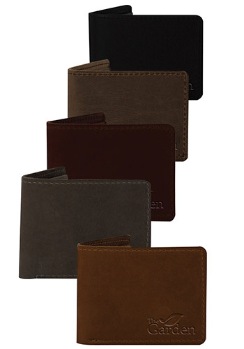 Bulk Traverse Leather Vulcan Bifold Wallets