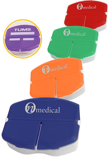 Customized Tri-Minder Pill Boxes