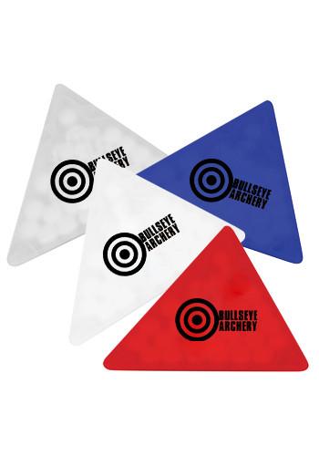 Triangle Shape Credit Card Mints | TKCC207