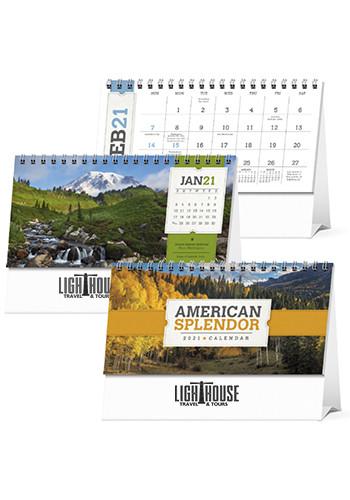 Personalized Triumph American Splendor Desk Calendars