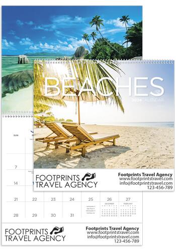 Custom Triumph Beaches Wall Calendars