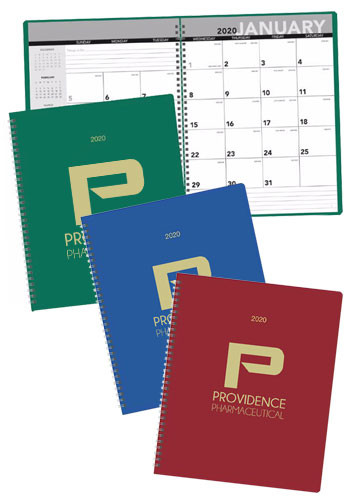 Personalized Triumph Leatherette Monthly Planners
