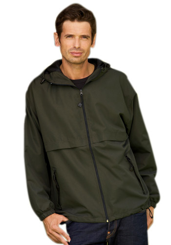 UltraClub Adult Zip-Front Hooded Jackets | 8908