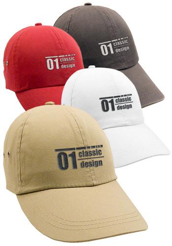 Cotton Twill Polo Caps