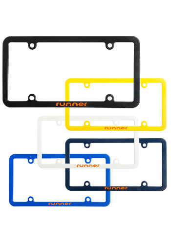 Personalized Universal License Plates