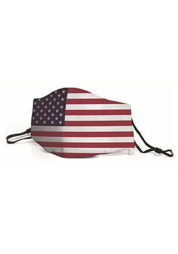 USA Flag Fashion Face Masks | JMMSKB178470