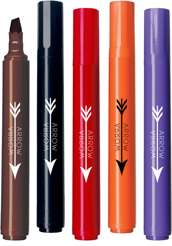 Personalized USA Made Chisel Tip Permanent Markers