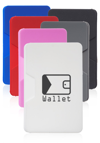 Promotional Varadero Silicone Phone Wallets