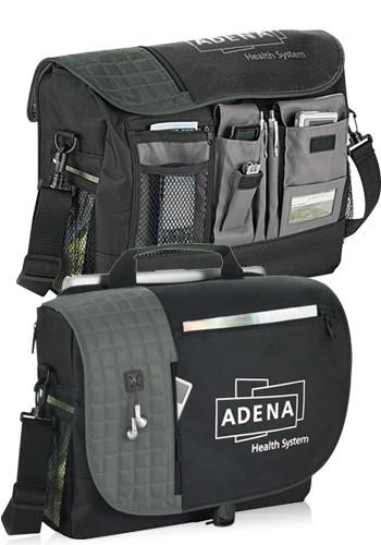 Custom Verve Checkpoint-Friendly Compu-Messenger Bags