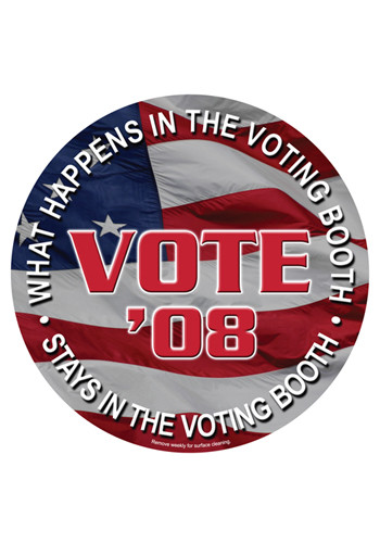 Bulk Vote 5.75in x 5.75in Magnets