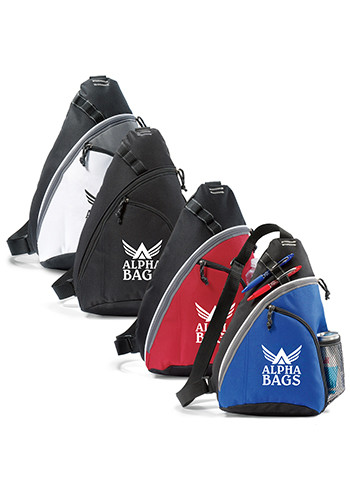 Customized Wave Monopack Sling Bags