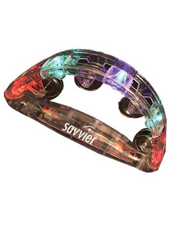 Light Up Glow Tambourine | WCMUS45
