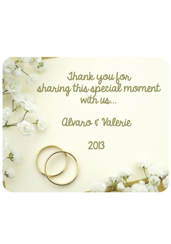 Wedding Ring Mouse Pads   MPD26