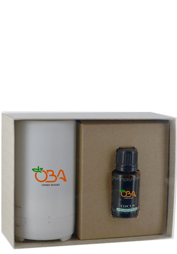 Promotional 15 ml Essential Oils & Electronic Diffusers in Gift Box