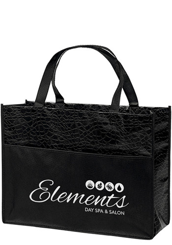 Bulk Couture Gloss Laminated Non-Woven Tote Bags