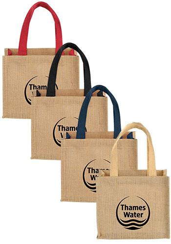 Custom Mini Jute Tote Bags