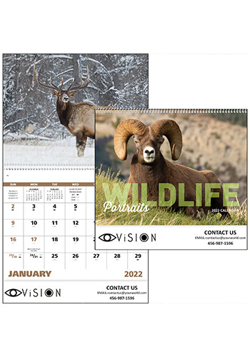 Customized Wildlife Portraits - Spiral Calendars