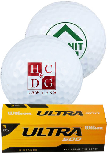 Custom Wilson Golf Balls