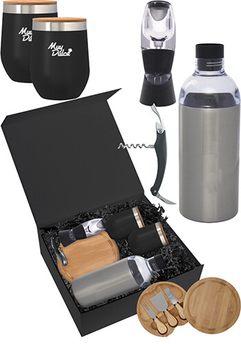 Custom Wine Down Gift Set