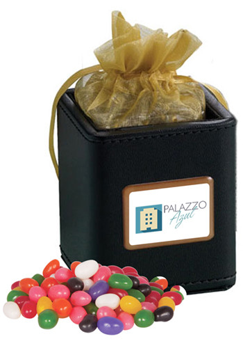 Promotional X-Cubes with Jelly Beans