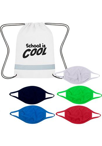 Custom Youth Back To School 5-Day Mask Kit